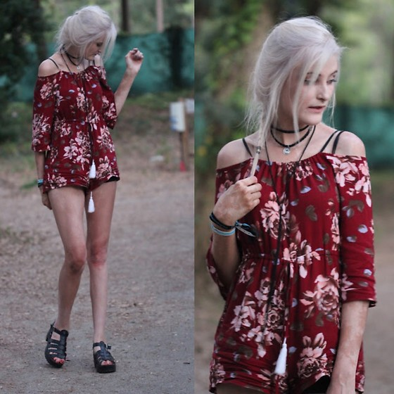 Faye S. - Zaful Playsuit, Public Desire Shoes - A world divided and afraid