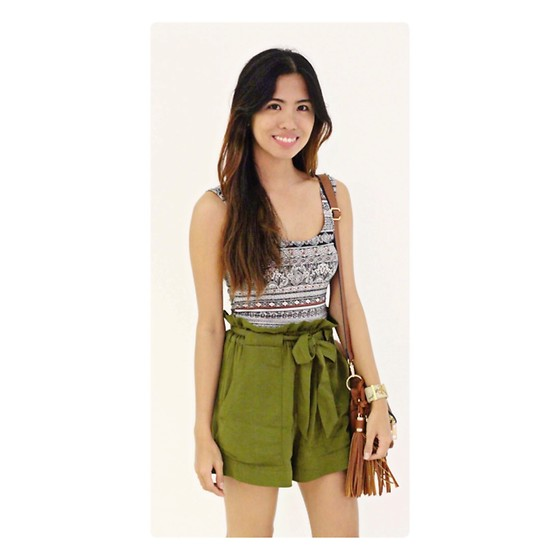 Crisna Neri - H&M Shorts, Forever 21 Top, Aldo Bag, Guess Watch - Nothing last forever