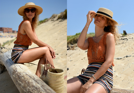 Mathilde Rockmycasbah -  - Beach Outfit