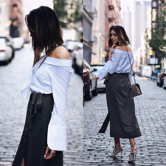 Amber - Zara Off The Shoulder Blouse - Soho