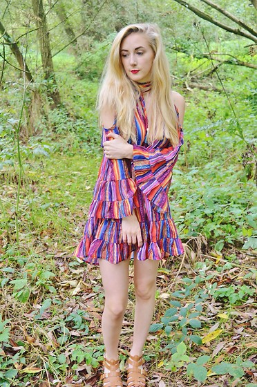 Isobel Thomas - Zaful Dress, Hidden Fashion Sandals - Bohemian Dress