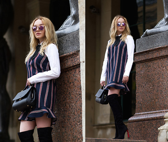 Darya Yakovleva -  - Do you like stripes? I do<3
