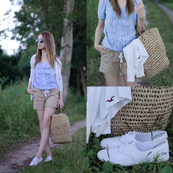 Martyna Piotrowska - Hollister Stripped Blouse - BYE BYE SUMMER