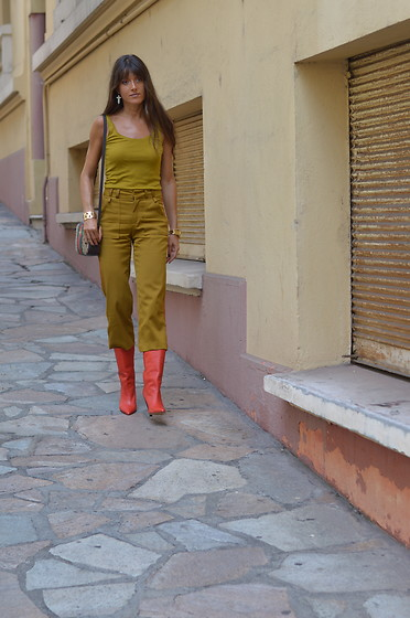 Jeanne -  - Military Khaki and Red Alert