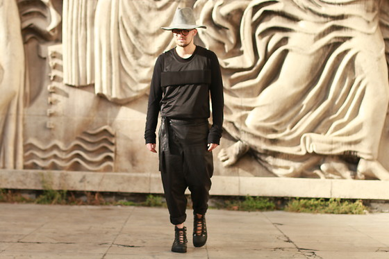 Hugo Portillo -  - My Outfit during PFW