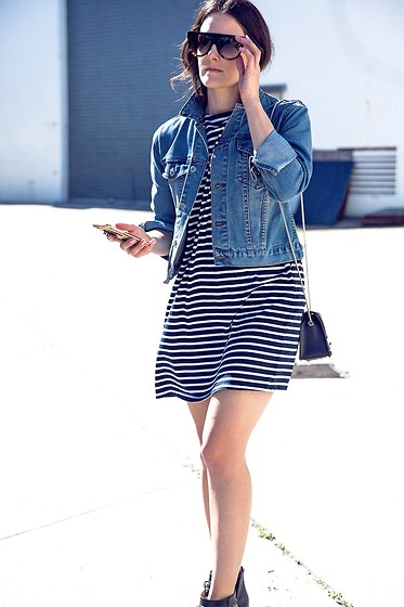Jenelle Witty -  - Denim and stripes