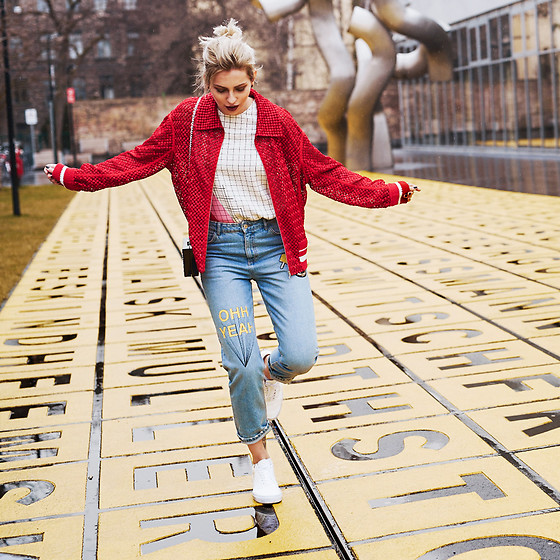 Masha Sedgwick - Vans Shoes, Zara Jeans - The Yellow Ground
