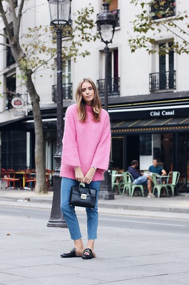 MODE ROSA -  - PINK SWEATER
