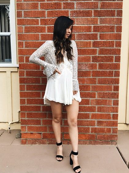 Karen C - Free People Dress, Jeffrey Campbell Heels - Lacey Dreams // LooksToLustFor.com