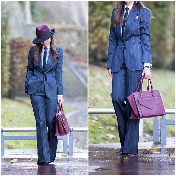 "Holy Rakoto - Lancaster Paris Bag - ""Sartorial look!"""