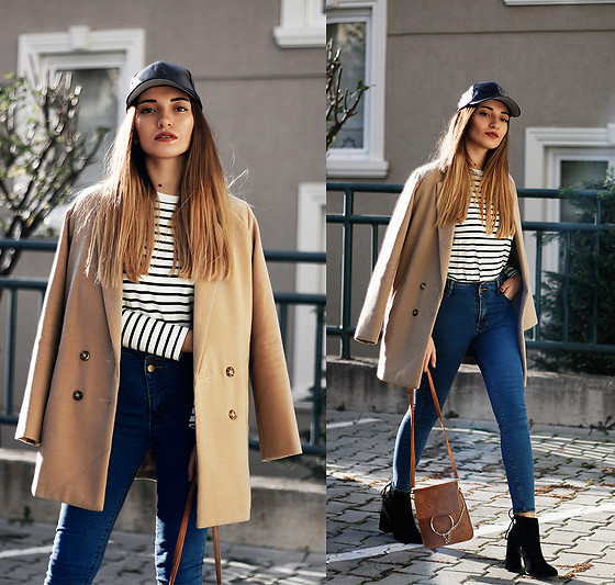 Melike Gül - Sheinside Coat, Sheinside Top, H&M Jeans, Romwe Boots - Cold Weather Basics