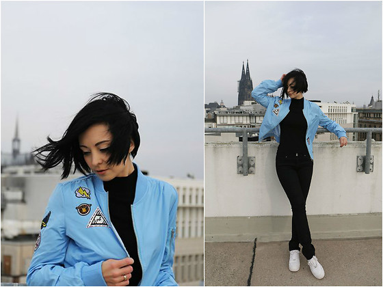 Aleksandra L. - Rosegal Bomber Jacket - PATCHES