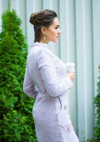 Daniela Dermengi -  - Wool dress - perfect outfit for autumn