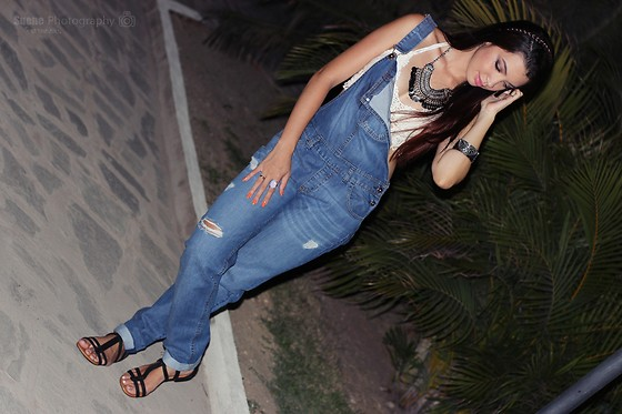 Nde -  - Overalls + Cropped ♡ Boho look