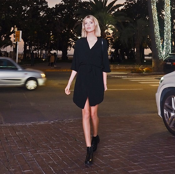 Ebba Zingmark - Vagabond Boots, Samsoe Dress - When in Cannes