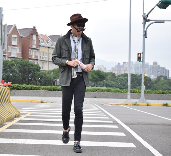 Anan Chien - Yango Hat, Uniqlo Jacket, Uniqlo Skinny, Dr.Martens Shoes - Yesterday