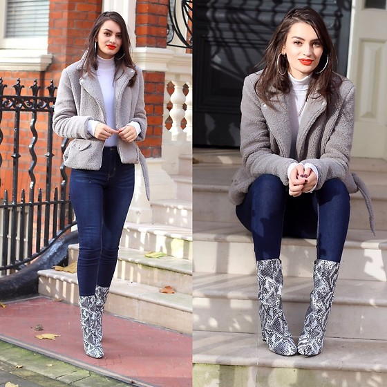 Patricia B -  - I Got a New Pair of Printed Boots