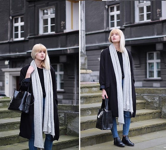 Martyna Lupa - Vintage, H&M, Zara - Trench