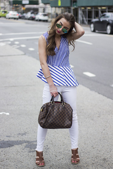 Fashion Sensored -  - Classic NYC Brunch Attire