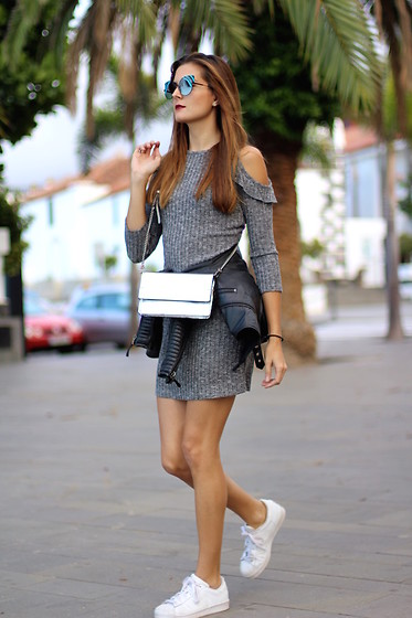 Marianela Yanes - Shein Dress, Adidas Sneakers, Fendi Sunglasses - Sporty Dress