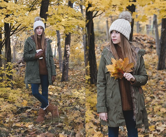 Martyna Piotrowska - H&M Beanie, Cheap Monday Jeans - Autumn vibes in winter