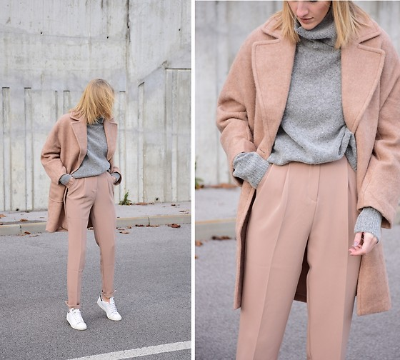 Katarina Vidd - Nude Coat, All On My Blog - Neutrals.