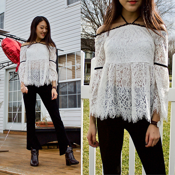 Keri H - Shein Lace Top - Lovely Lace