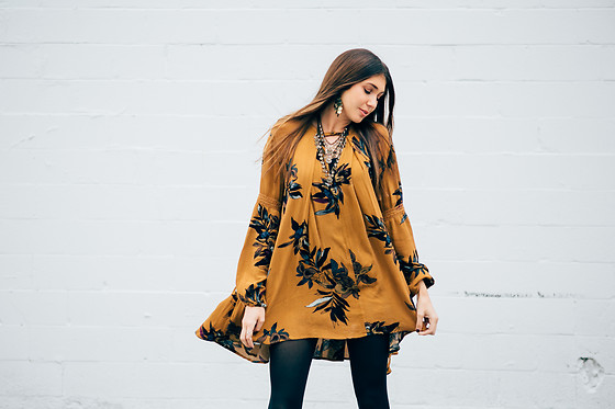 Gabrielle L. - Free People Mustard Tunic - Free people mustard tunic