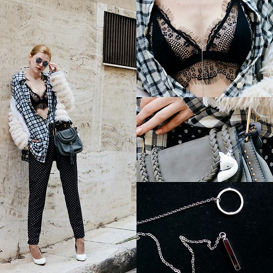 Maria Vidrasco - Bazz…R, Bazz…R (Jacket), Qq47, Luna Sky Jewellery (Neckalce Worn As A Keychain), (Similar), Sammydress, Wolfnoir, Tatiana's Threads (Bralette) - I DON'T WANNA LIVE FOREVER