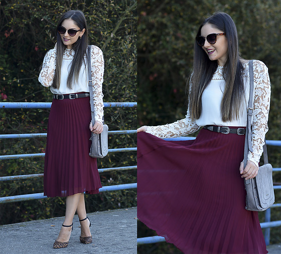 Alba . - Choies Skirt - Pleated