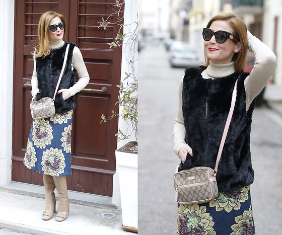 Vale ♥ - Asos Tapestry Skirt, Gucci Crossbody Bag, Giovanni Fabiani Boots - Tapestry skirt