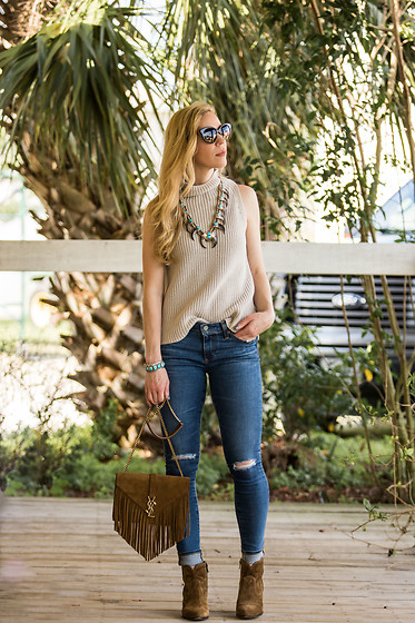 Meagan Brandon -  - What to Wear With a Statement Necklace