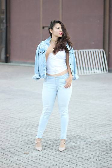 Judith Loyola - Primark Top, Primark Jeans, Nine West Heels - Slightly true