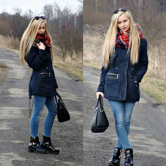 Monika - Topshop Jeans, Stradivarius Black Bag, C&A Sunglasses - Spring