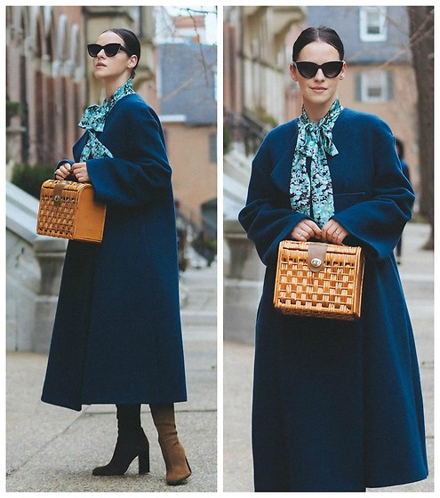 Veronica P -  - The Oversized Coat
