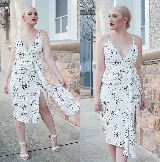 Ashleigh McCallum - C/Meo Collective Interrupt Dress, Wittner Otto Heels - Girl Interrupted in C/MEO COLLECTIVE