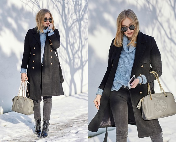 Marta Caban - Zerouv Glasses, Daniel Wellington Watch, Gucci Bag, Sammydress Coat - SIMPLE