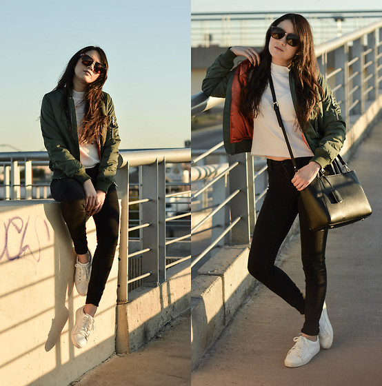 Xaydy Gambino - Bershka Bomber Jacket, More On - Last day of winter