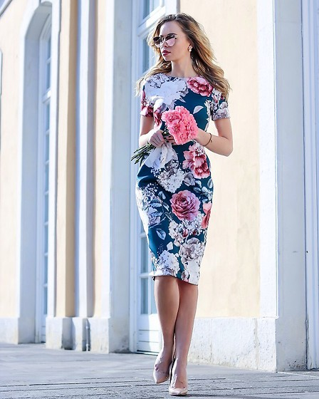 My Philocaly -  - Floral spring dress
