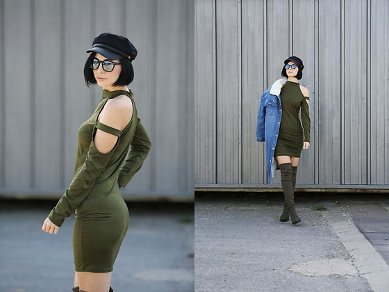 Aleksandra L. - Fatika Dress, Asos Hat, Buffalo Boots, Izipizi Sunglasses - CASUAL SPRING