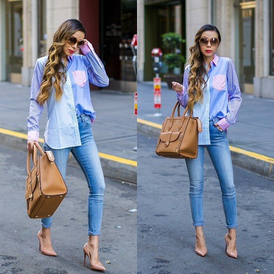 Sasa Zoe - 30% Off Shirt, On Sale Bag, Sunglasses, Jeans, Heels - SPRING COLORS