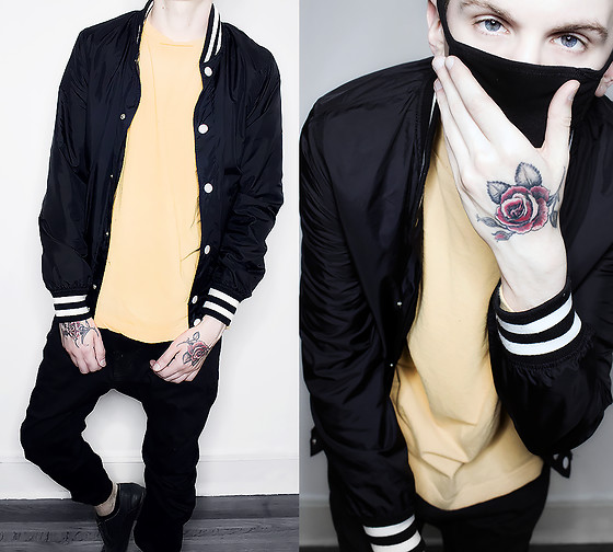 Ghouls - H&M Jacket, Urban Outfitters Shirt - Bee