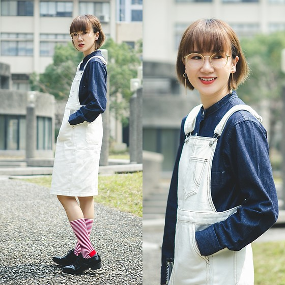 Crystii Lin -  - DENIM OVERALL