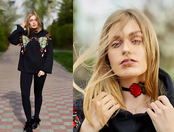 Marta Caban - Poppy Lovers Blouse - ROSES TREND