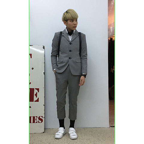 Kai Chi Lao - Acne Studios Sneakers。 - #green #acnestudios #acne #suit #and #tie #gentle。