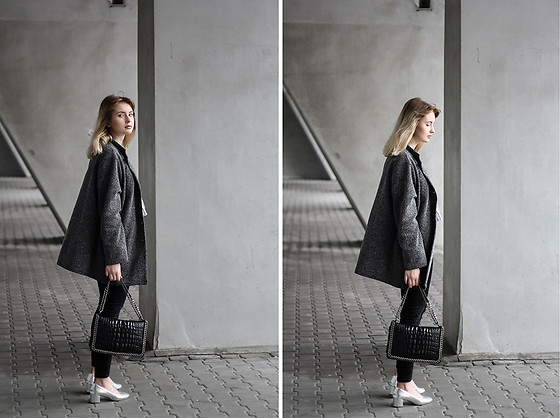 Martyna Lupa - Vintage, Zara, Pull&Bear - Silver or gray