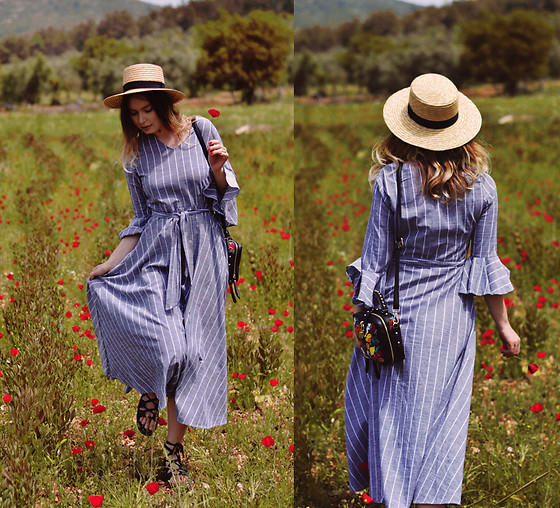 Kseniya Celikdelen - Vintage Dress, H&M Hat - My Province