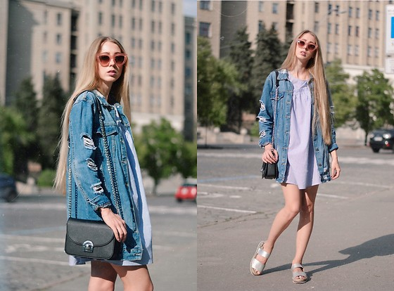 Lisa - Jacket, Dress, Bag - Denim jacket