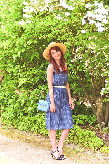 Dépêches Mode - Vintage Dress, Zaful Bag - La trouvaille vintage