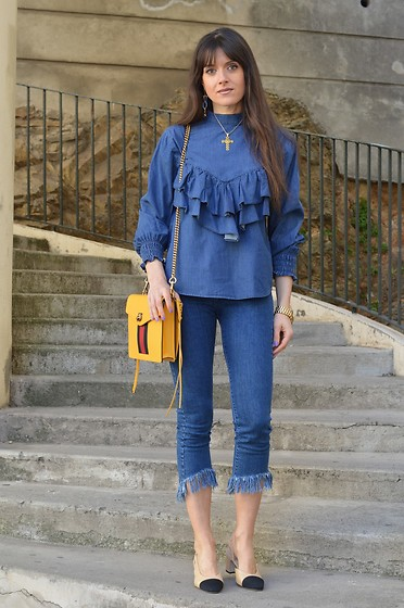 Jeanne -  - Double Denim Look with a Twist